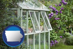 iowa a garden greenhouse