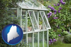 maine a garden greenhouse