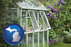 michigan a garden greenhouse